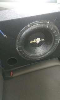 Subwoofer, Pre Amp, Power Amp