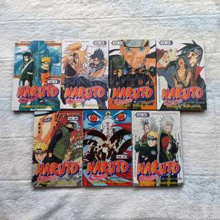 Komik Naruto Murah Preloved (comic)