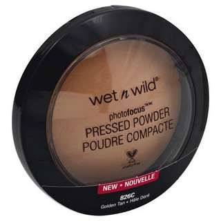 Wet N Wild phorofocus pressed powder