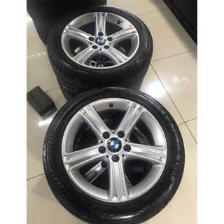 BMW Original 17Inch RIMS + Bridgestone RFT S001