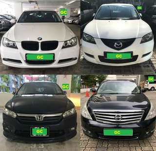Mitsubishi Lancer 1.6 Manual RENT CHEAPEST RENTAL AVAILABLE FOR Grab/Ryde/Personal USE