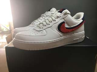 Nike Air Force 1 3D chenille swoosh