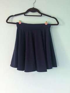 Navy blue Grass skirt
