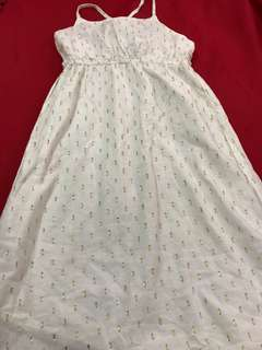 Old Navy Girls White Dress