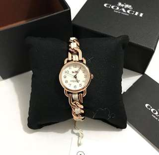 Coach 14502726 rose gold white
