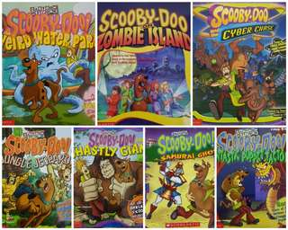 Scooby Doo Reading Books
