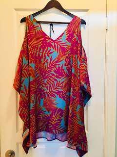 NWT Astr Cold Shoulder Dress
