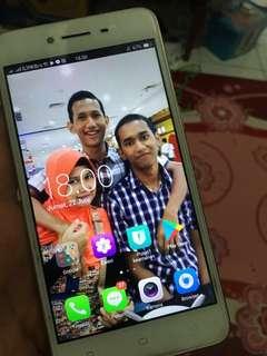 Handphone Oppo a37 gold