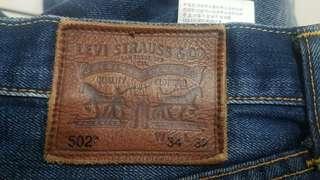 Authentic Levis 502 Denim Jeans