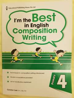 I'm the Best in English Composition writing Pri 4 by EPH