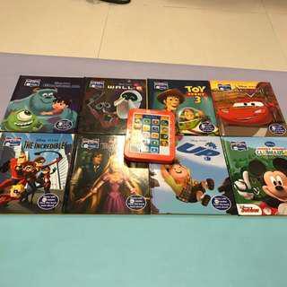 迪士尼故事發聲書 Disney Pixar Electronic Reader
