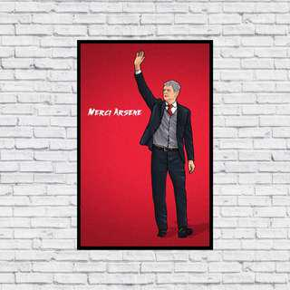 🚚 Merci Arsene in Wall Print