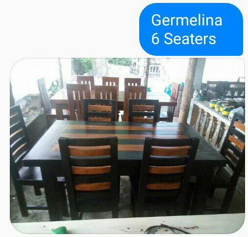 6 Seaters Dining Table Gmelina Wood Home Furniture On Carousell
