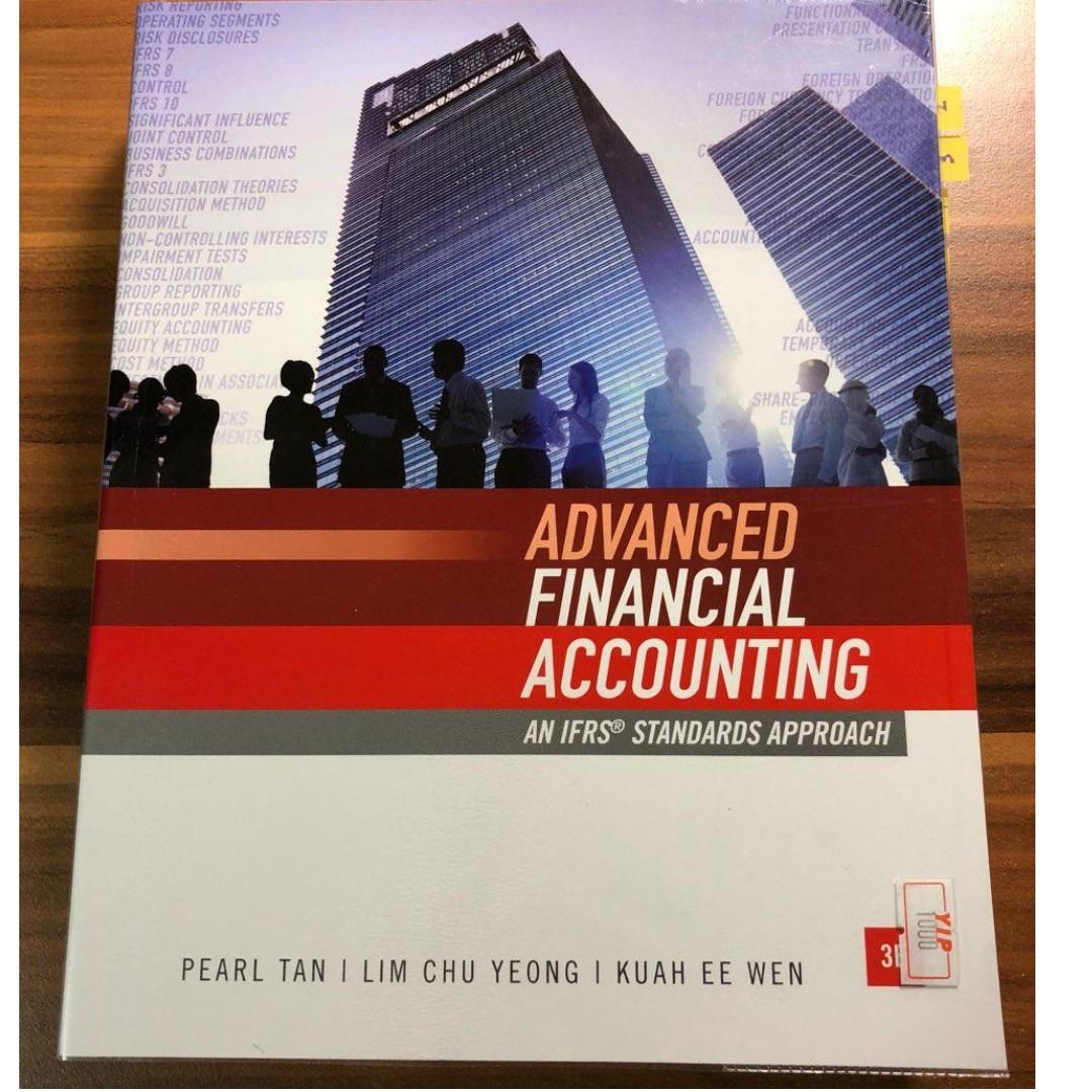 AC3102/IFA/AFA: Advanced Financial Accounting (Pearl Tan) + soft copy  bible/materials