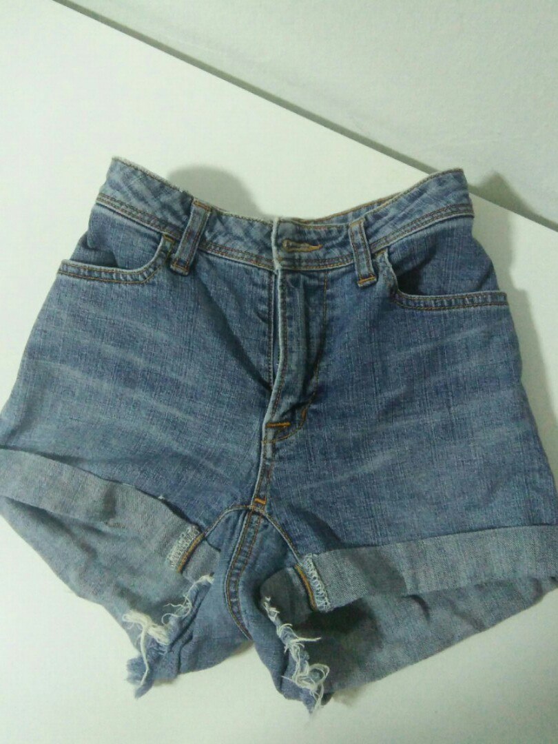 8d6b7bd788 american apparel inspired light wash high waist denim shorts, Women's  Fashion, Clothes, Pants, Jeans & Shorts on Carousell
