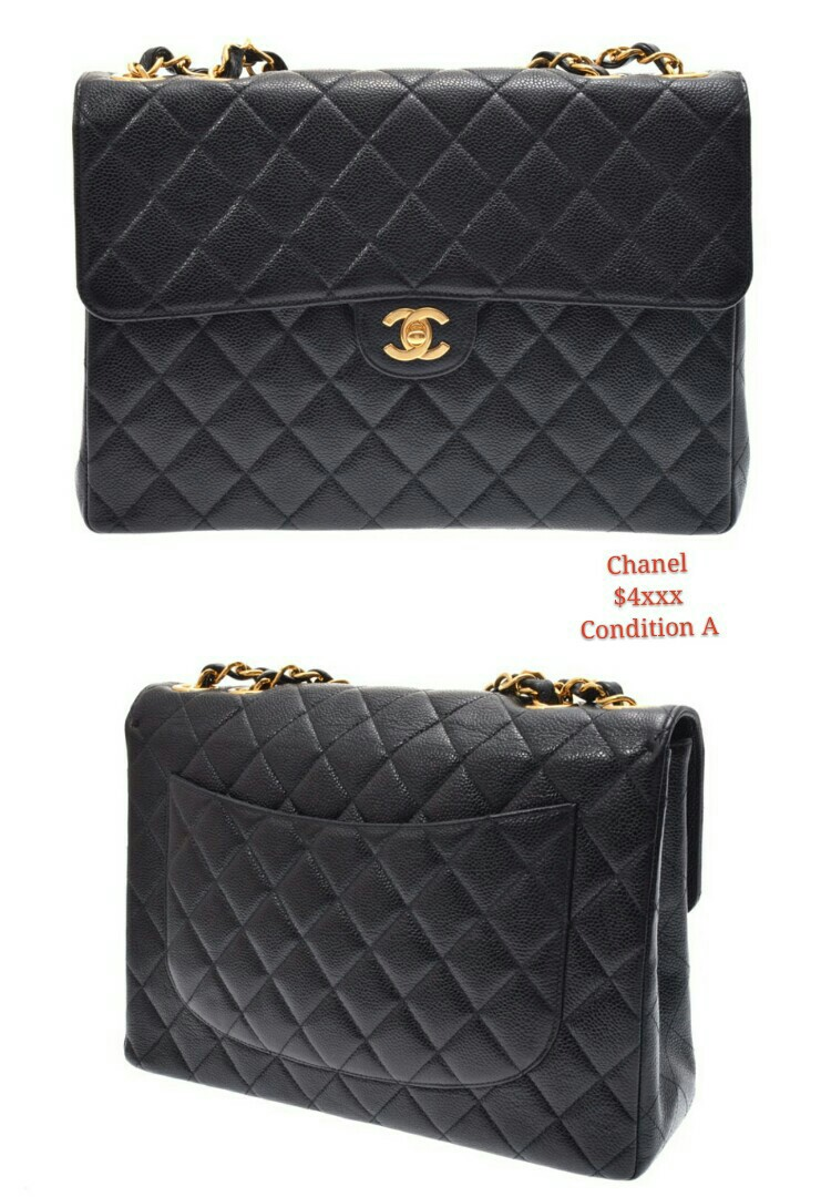 Authentic Preloved Chanel Bags From An Luxury Wallets Handbags On Carou