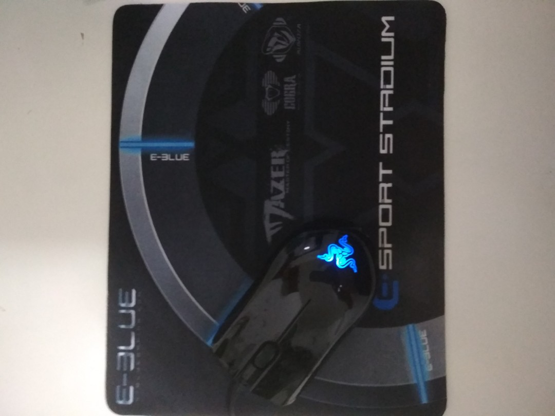 Authentic Razor Abyssus Mirror Special Edition Gaming Mouse With Pad E Blue Value Pack Toys Games Video Accessories On Carousell