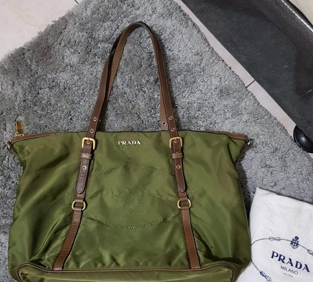 467339c3529b Repriced!!!!!Authentic Prada Tessuto Saffiano Shoulder Bag