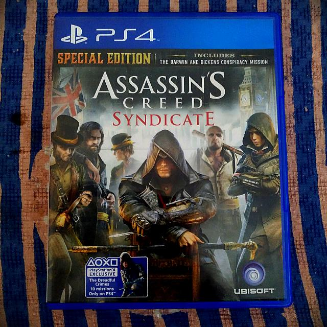 BD PS4 Assasins Creed Syndicate