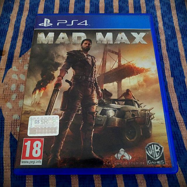 BD PS4 Mad Max