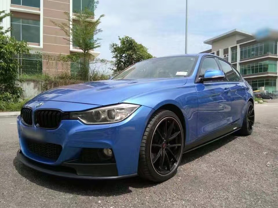 bmw f30 m performance m sport bodykit pp taiwan m tech car accessories accessories on carousell. Black Bedroom Furniture Sets. Home Design Ideas