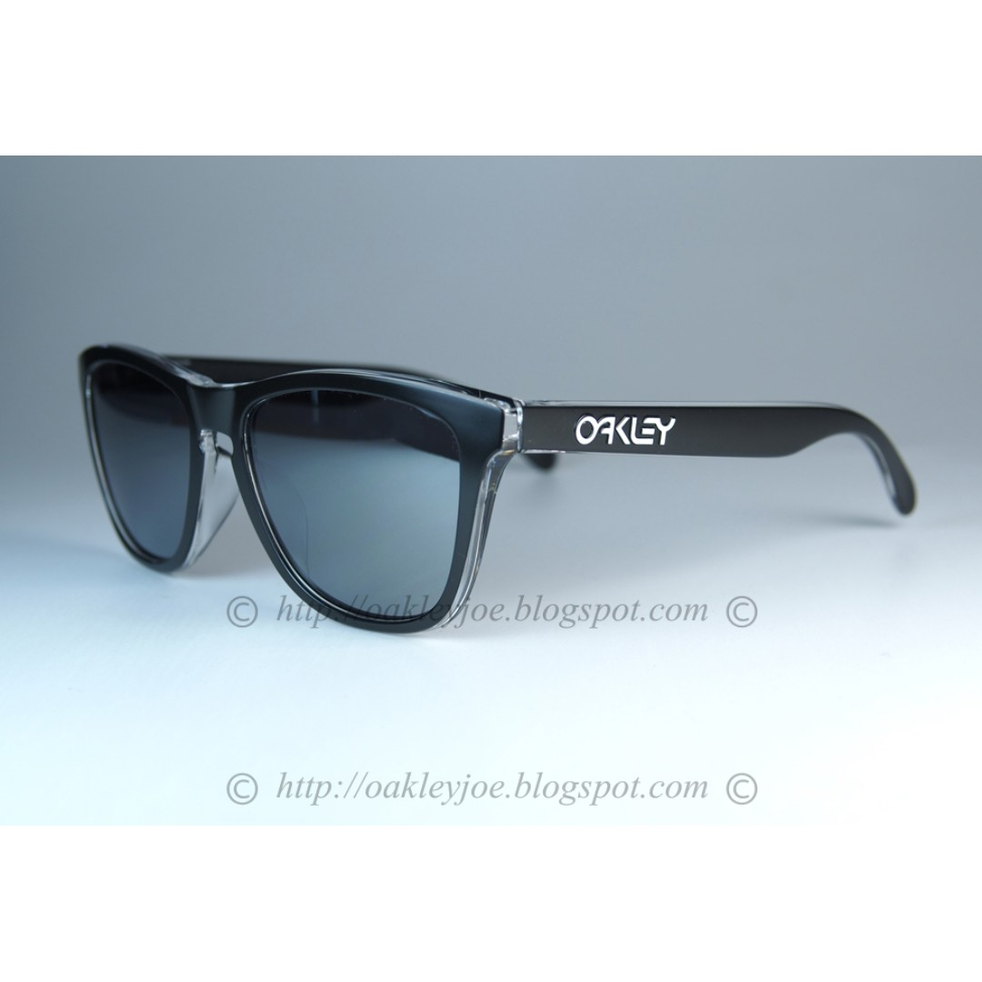 e9e76c8baa ... best price bnib oakley frogskins asian fit eclipse clear black iridium  oo9245 4d0ed 7c6fa