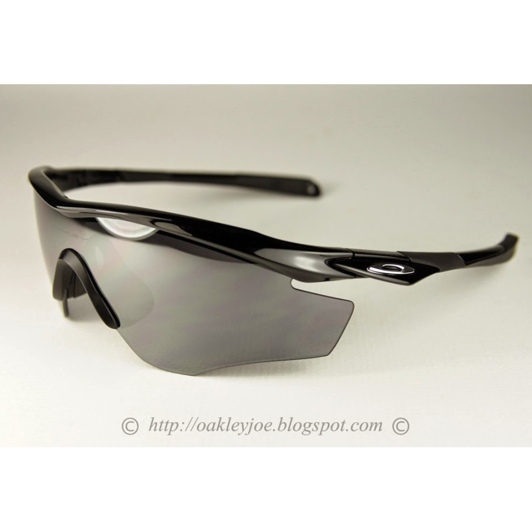 041570226ae BNIB Oakley M2 XL polished black + black iridium oo9212-01 sunglass ...