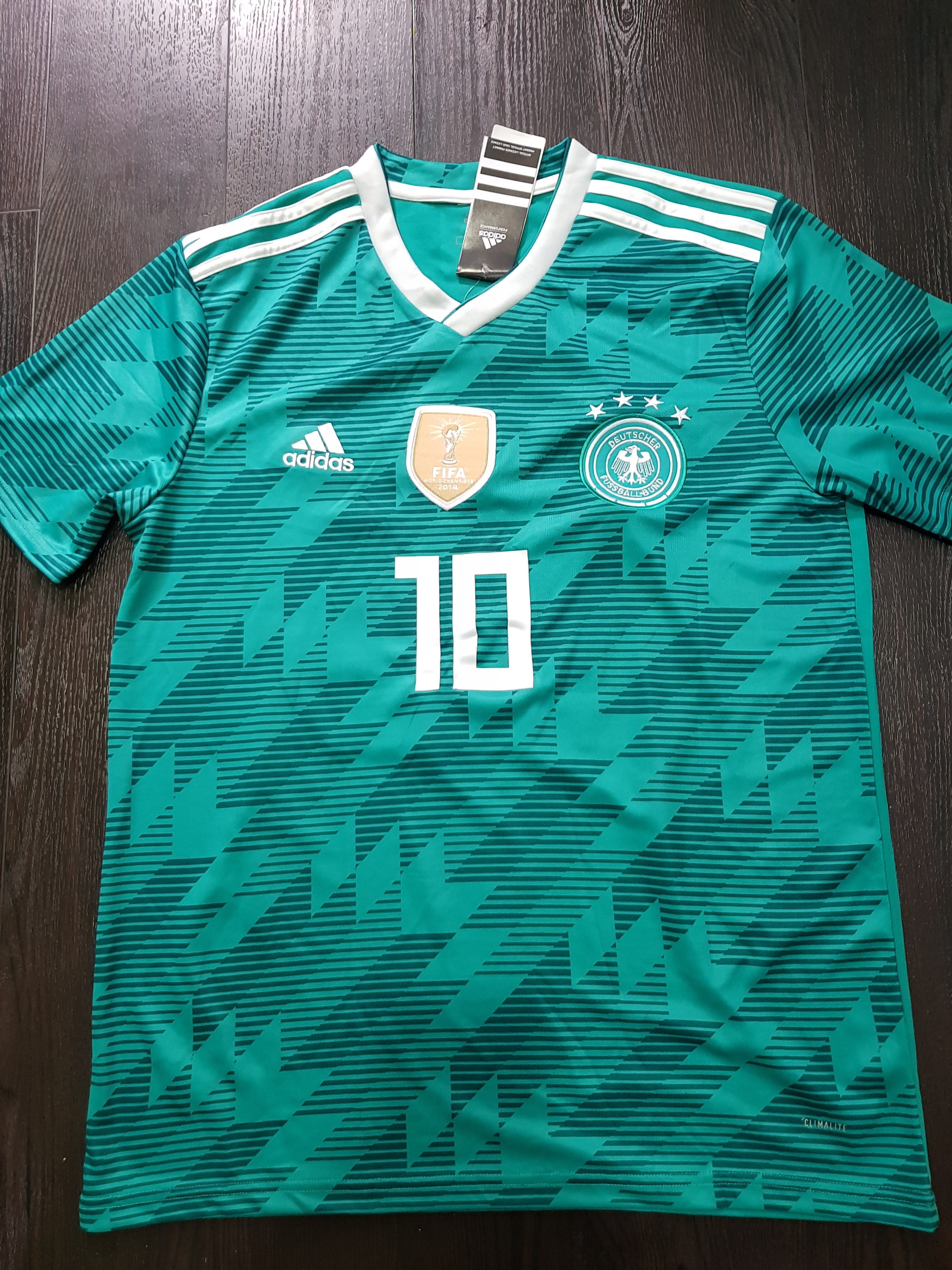2be07a5e7 2014 Adidas Germany World Cup Winners T Shirt