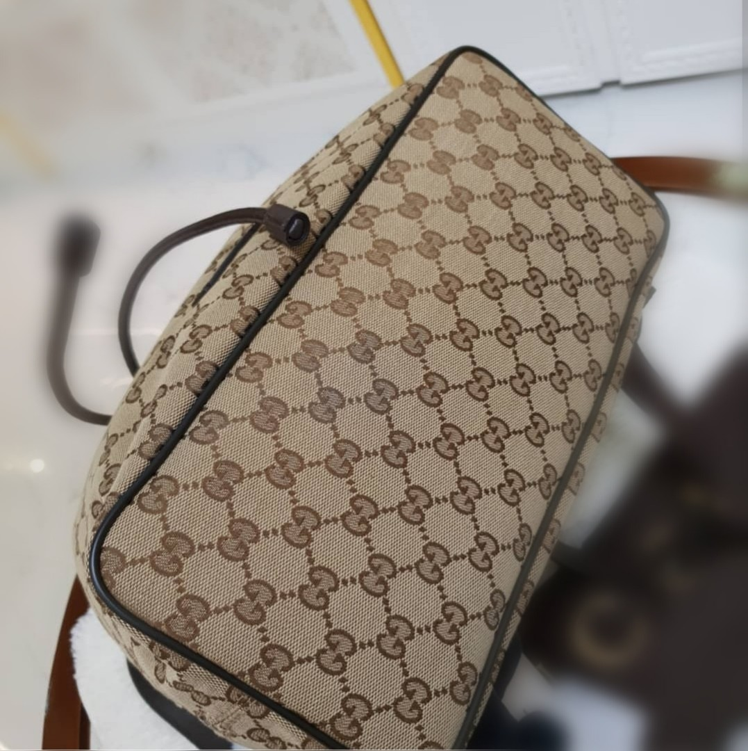 c3657818723 BRAND NEW GUCCI DRAWSTRING BACKPACK ❤️BIG SALE48K❤ With dustbag leather  swatch and card Swipe for detailed pics Cash card layaway accepted