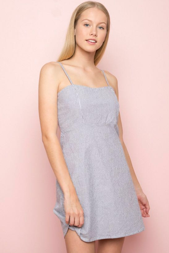7be1c1ab030 Share This Listing. Brandy Melville Karla Striped Dress ...