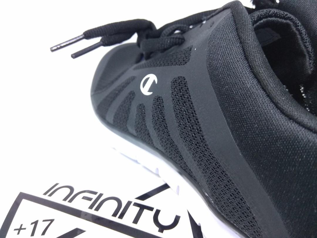 7a7b87c1306b0 Champion Original Shoes Sneakers Running Sports Gusto Black - Sepatu  Champion Sneaker Olahraga Lari Pria Wanita Unisex