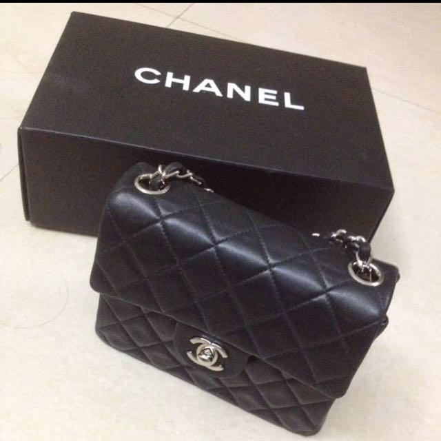 Chanel Leather Evening Bag, Luxury, Bags   Wallets, Handbags on Carousell 93b7624dc1