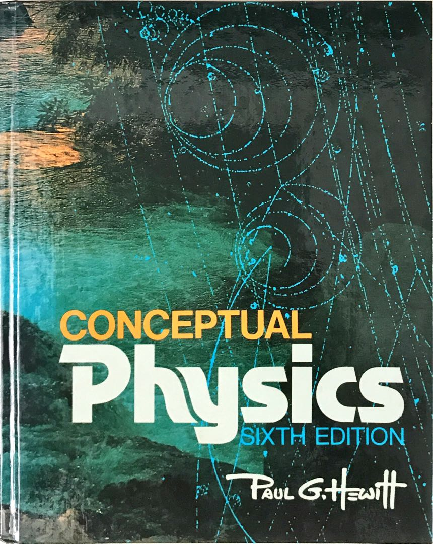 Conceptual Physics 6th Edition Books Stationery Textbooks