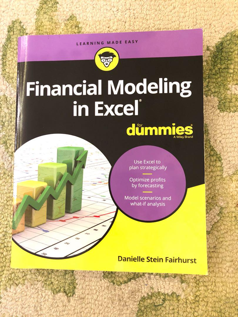 Financial Modeling in Excel for dummies on Carousell
