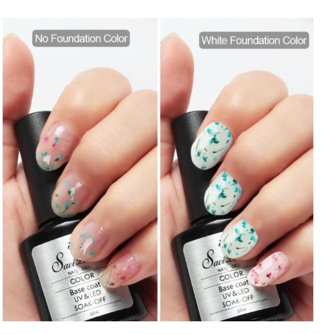 Foral gel nail polish dried flower health beauty hand foot photo photo izmirmasajfo