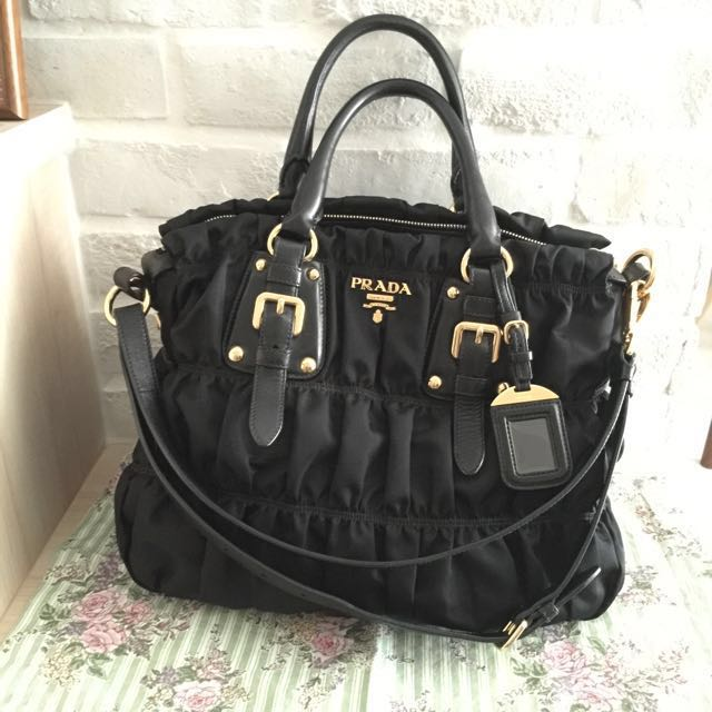f4680ceccdbf Good Condition Prada Tessuto Gaufre BN1336, Luxury, Bags & Wallets ...