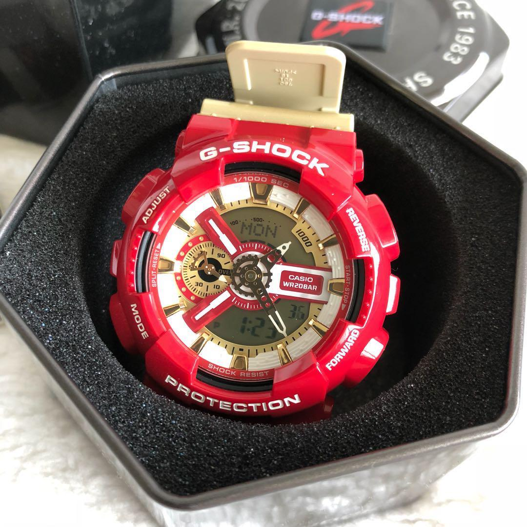 G-Shock Watch (Iron Man Colours), Men's Fashion, Watches on
