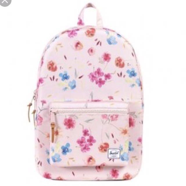 ea741708991 Herschel settlement Backpack Rubi Khaki Floral