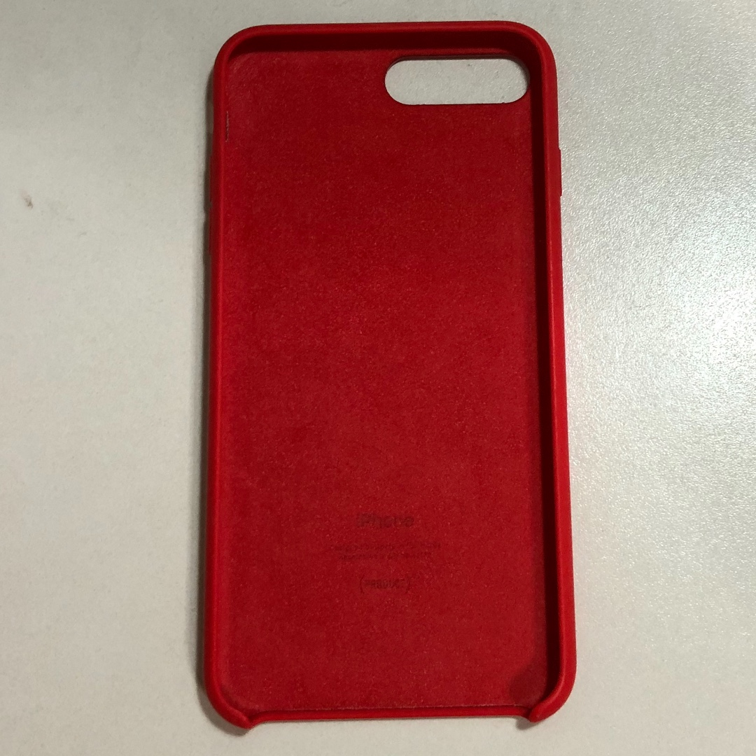 sports shoes 54d36 2f05a iPhone 8 Plus / 7 Plus Silicone Case - (PRODUCT)RED