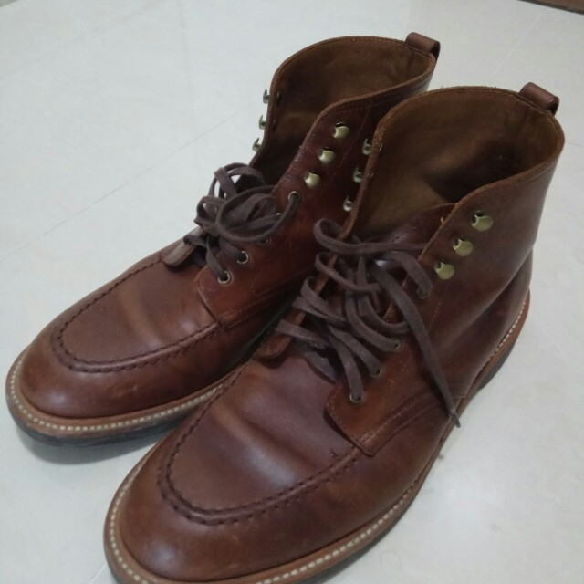 083d6329061 J Crew Goodyear welted Kenton Leather Pacer Boots, Men's Fashion ...