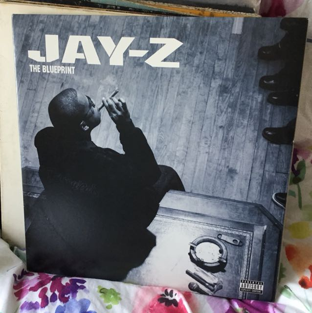Jay z blueprint vinyl lp blue colour promo copy music media photo photo malvernweather Image collections