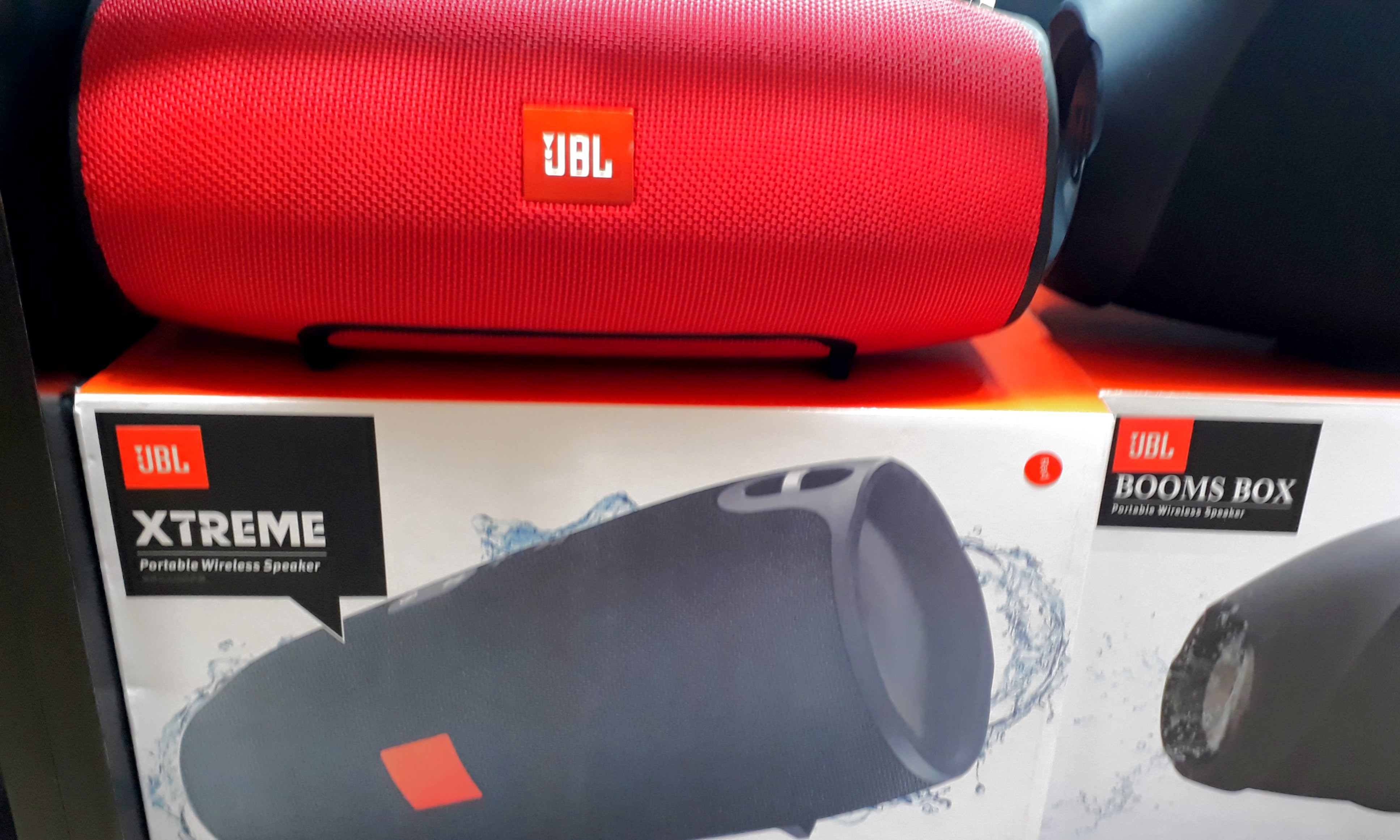 Jbl Xtreme Portable Wireless Speaker Electronics Others On Carousell Red Photo