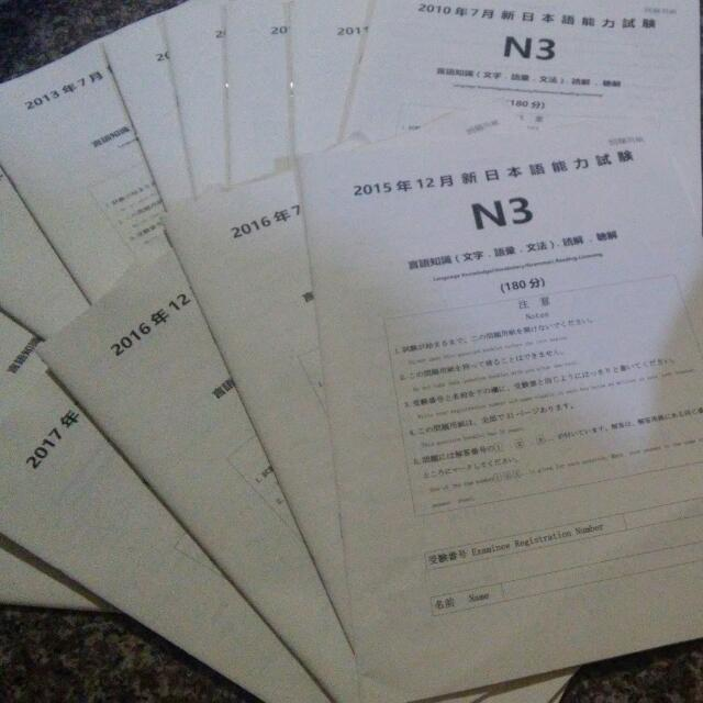 JLPT N3 OFFICIAL QUESTIONS, Books & Stationery, Textbooks