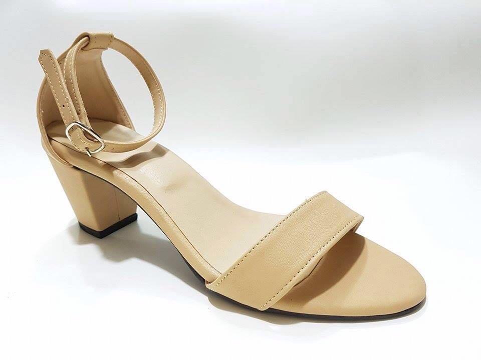 2acea2e7a Leatherette Block Heels
