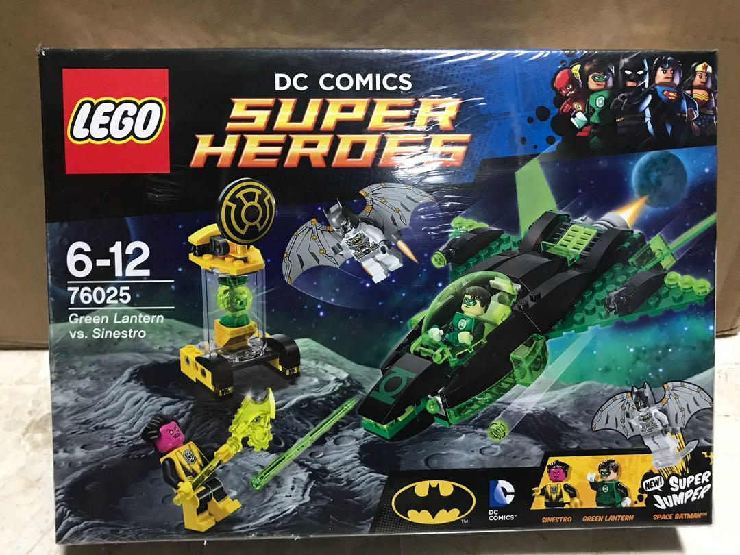 LEGO Green Lantern vs Sinestro 76025 Space Batman Justice League DC Comics