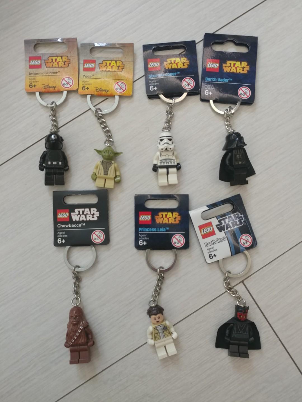 全新Lego star war 匙扣