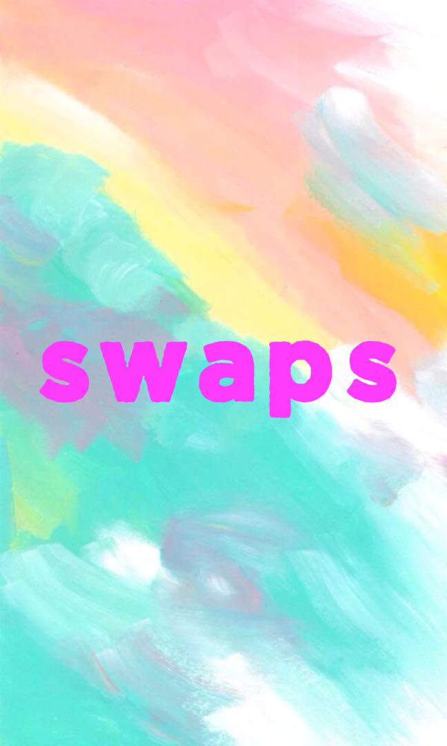 Open to swaps 🌸 like this post!