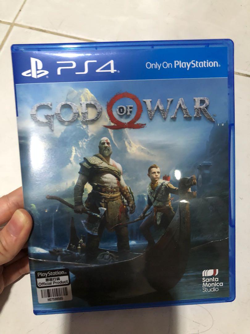 PS4 Game God of War 4