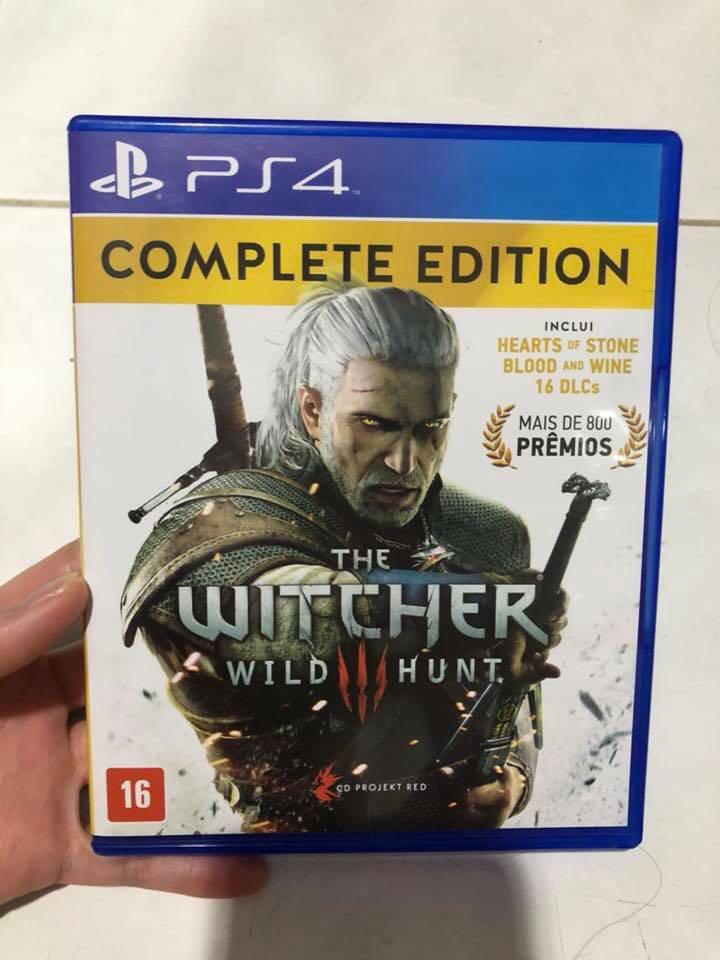 Ps4 Game The Witcher Complete Edition
