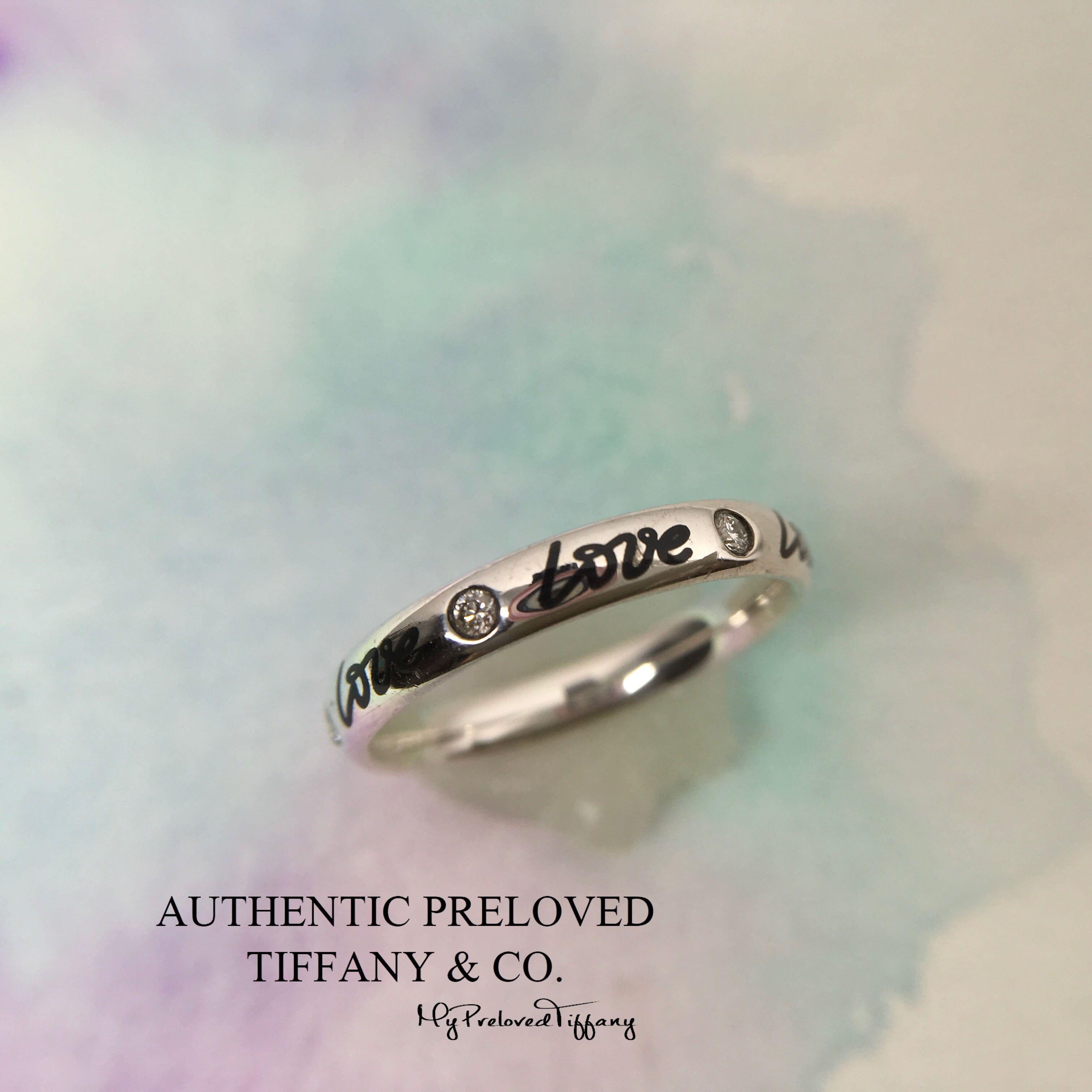 23c7e75aa Rare Authentic Tiffany & Co Paloma Picasso Graffiti Love Black ...